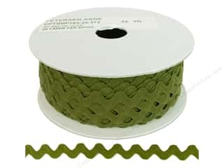 Ric Rac by Cheep Trims  1/2 in. Olive