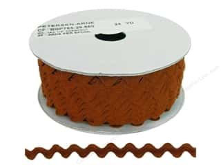 Cheep Trims Ric Rac 1/2 in. Chestnut (24 yards)