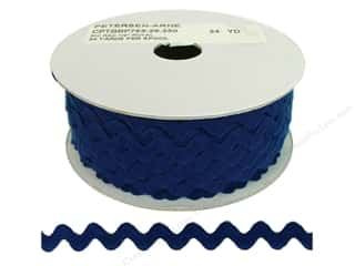 Cheep Trims Ric Rac 1/2 in. Royal (24 yards)