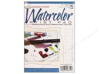 craft & hobbies: Royal Watercolor Artist Pad 5 x 7 in.