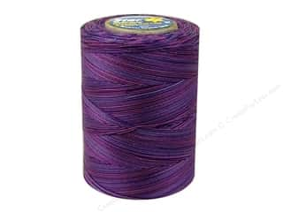 mettler mercerized cotton thread: Coats & Clark Star Variegated Mercerized Cotton Quilting Thread 1200 yd. #843 Violet Eve