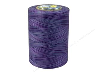 mettler mercerized cotton thread: Coats & Clark Star Variegated Mercerized Cotton Quilting Thread 1200 yd. #846 Storm Clouds