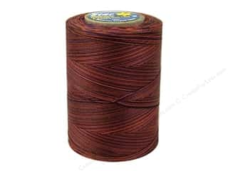 mettler mercerized cotton thread: Coats & Clark Star Variegated Mercerized Cotton Quilting Thread 1200 yd. #847 Potters Clay