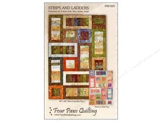 Four Paws Quilting: Four Paws Quilting Strips and Ladders Pattern