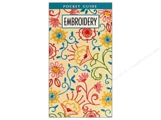 books & patterns: Leisure Arts Embroidery Pocket Guide Book