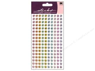 Sticko Sparkler Stickers - Dots Pastels