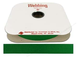 Polypropylene Webbing by A&E 1 in. Lake Green