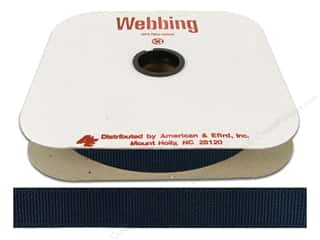 A&E Polypropylene Webbing 1 in. Navy (25 yards)