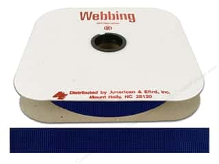Polypropylene Webbing by A&E 1 in. Victoria Blue