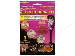 Holiday Sale Wilton Kit: Armour Glass Etching Kit Starter