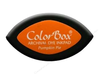Clearance ColorBox Premium Dye Ink Pad: ColorBox Archival Dye Ink Pad Cat's Eye Pumpkin Pie