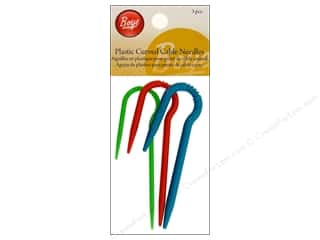 Boye Cable Stitch Needle Curved Plastic 3 pc.