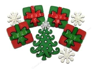 jesse james dress it up Christmas buttons: Jesse James Dress It Up Embellishments Christmas Collection A Whimsical Christmas