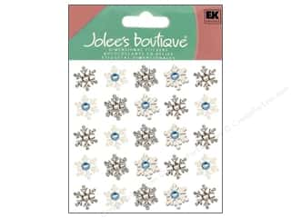 stickers: Jolee's Boutique Stickers Repeats Snowflake