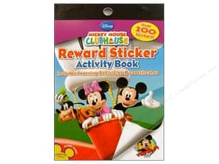 stickers: Bendon Reward Stickers Book Mickey Mouse Clubhouse