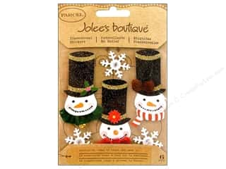 stickers: Jolee's Boutique Stickers Glittered Snowmen