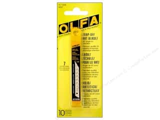 rotary cutter: Olfa Snap Off Art Blade For Utility A 9mm 10pc