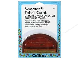 Quilting Collins: D-Fuzz-It Sweater Comb by Collins 1 pc.