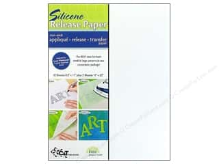 glues, adhesives & tapes: C&T Publishing Silicone Release Paper 12 pc.