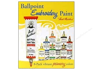Weekly Specials Aunt Martha's Ballpoint Paint Set: Aunt Martha's Ballpoint Paint Set 8 pc. Primary