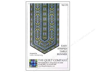 books & patterns: The Quilt Company Easy Striped Table Runner Pattern