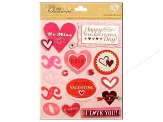 Valentines Day Gifts Paper: K&Company Stickers Life's Little Occasions Valentine's Day