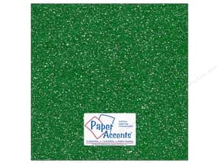 Cardstock 12 x 12 in. #5104 Glitz Silver/Fairway by Paper Accents