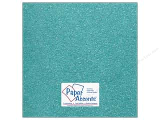 Cardstock 12 x 12 in. #5113 Glitz Silver/Blue Sky by Paper Accents