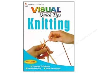 knitting books: Wiley Publications Visual Quick Tips Knitting Book