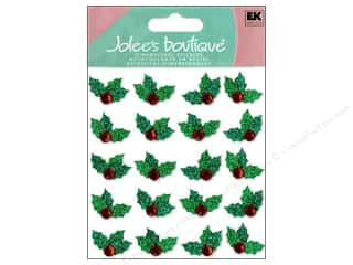 stickers: Jolee's Boutique Stickers Repeats Christmas Holly