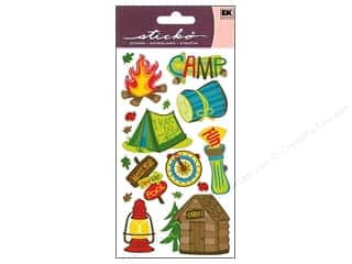 scrapbooking & paper crafts: EK Sticko Stickers Camping Fun