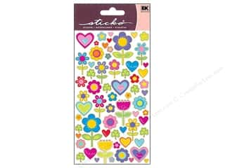 scrapbooking & paper crafts: EK Sticko Stickers I Love Flowers