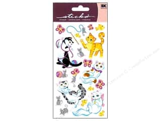 scrapbooking & paper crafts: EK Sticko Stickers Playful Kittens