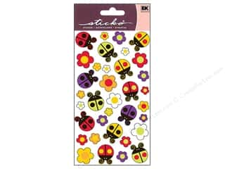 EK Sticko Stickers Bugs N Blossoms