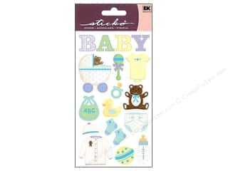 scrapbooking & paper crafts: EK Sticko Stickers Baby Objects