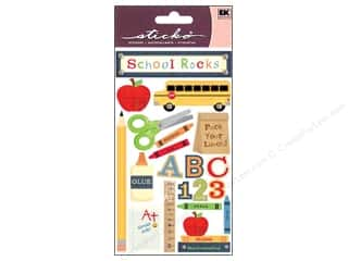 scrapbooking & paper crafts: EK Sticko Stickers School Rocks