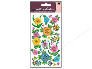 scrapbooking & paper crafts: EK Sticko Stickers Flores