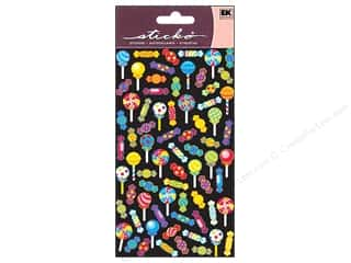 EK Sticko Stickers Repeats Metallic Sugary Sweet