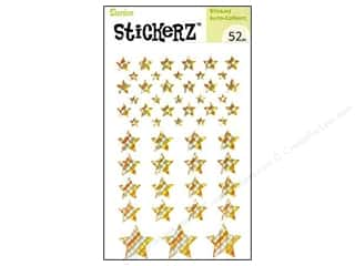 Darice Sticker Gold Stars 52pc