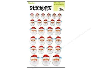 stickers: Darice Sticker Santa Claus 26 pc