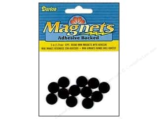 Darice Adhesive Back Magnets 1/2 in. Mini Round 12 pc.