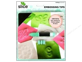 scrapbooking & paper crafts: Making Memories Slice Embossing Tips with Wrench