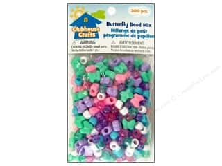 Holiday Gift Ideas Sale Kids Crafts: Sulyn Clubhouse Crafts Bead Mix Butterfly 300pc