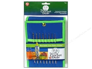 yarn & needlework: The Crochet Dude Steel Crochet Hook Set 8 pc. Size 00-9
