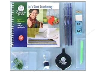 Size I (5.5mm): The Crochet Dude Starter Crochet Kit - Let's Start Crocheting