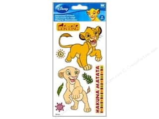 EK Disney Sticker Dimensional Lion King Large