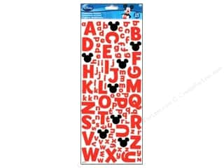 EK Disney Sticker Dimensional Mickey Foam Alphabet
