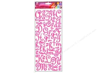 EK Disney Dimensional Stickers Princess Felt Alphabet
