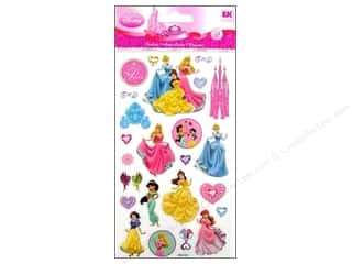 EK Disney Sticker Dimensional True Princess
