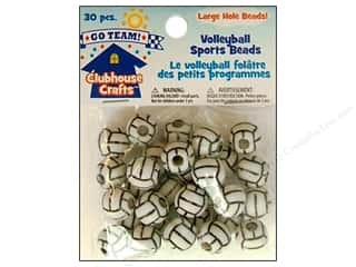 Holiday Gift Ideas Sale Kids Crafts: Sulyn Clubhouse Crafts Sports Beads Volleyball 30pc